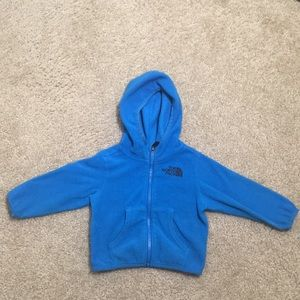 The North Face infant hoodie
